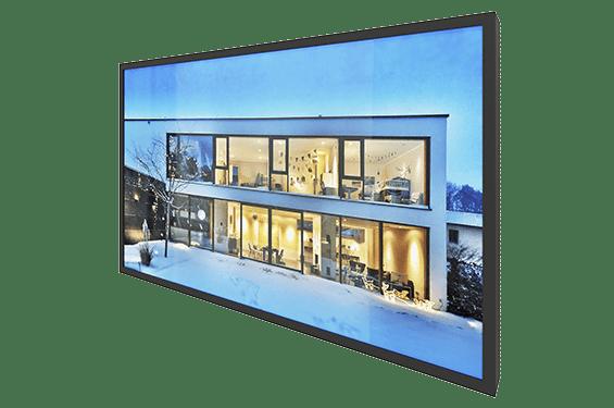 Digital skærm med høj lysstyrke