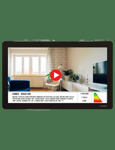 VM Light n play skærm med video